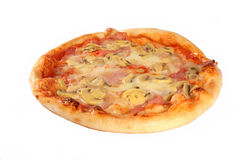 Mini pizza Stock Image