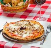 Mini Pizza Royalty-vrije Stock Foto's