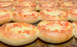 Mini pizza Royalty Free Stock Photos