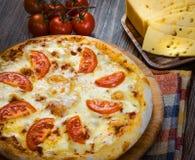 Mini pizza Margherita 5 Imagenes de archivo