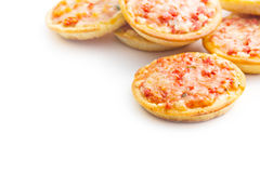 Mini pizza Stock Image