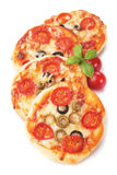 Mini pizzas Royalty Free Stock Image