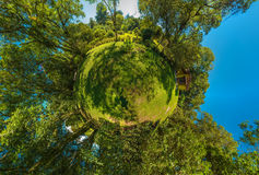 Mini Planet Photo stock