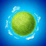 Mini planet concept template. One from collection. Stock Photos