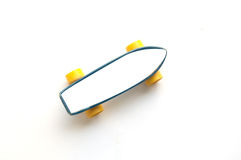 Mini plastic skateboards Stock Images