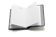 Mini pocket note book Stock Images