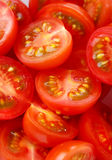 mini pokrojeni pomidory fotografia royalty free