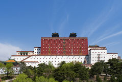 The mini Potala Palace of Chengde Royalty Free Stock Photography