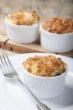 Mini potato casserole  . Royalty Free Stock Image