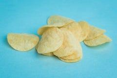 Mini Potato Chips Royalty Free Stock Photography