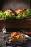 Mini poulet grillé par totalité Photographie stock
