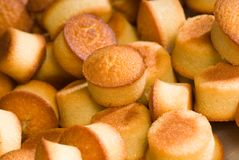 Mini pound cakes Royalty Free Stock Photo
