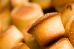Mini pound cakes Royalty Free Stock Photos