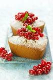 Mini pound cakes Royalty Free Stock Photos