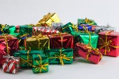 Mini presentes gammas Imágenes de archivo libres de regalías