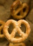 Mini pretzels Royalty-vrije Stock Afbeeldingen