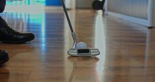 Mini primer del golf en casa metrajes