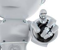 Mini punto del finger del robot