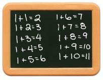 Mini quadro da criança - matemática Imagens de Stock Royalty Free
