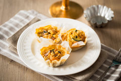 Free Mini Quiche Stock Photo - 59548020