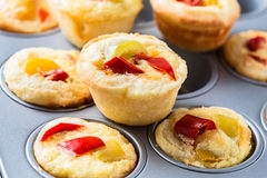 Mini quiche Royalty Free Stock Photography