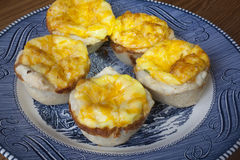Mini Quiche Pies Stock Image