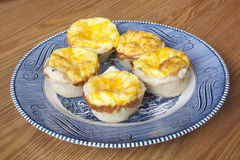 Mini Quiche Pies Stock Photo