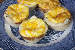 Mini Quiche Pies Royalty Free Stock Image