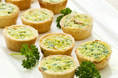 Free Mini Quiches Royalty Free Stock Photos - 9818098