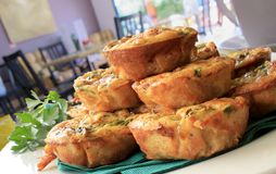 Mini- Quiches 1 Royaltyfri Bild