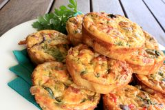 Mini Quiches 2 Stock Photo