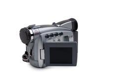 Mini registratore di DV su bianco Immagine Stock