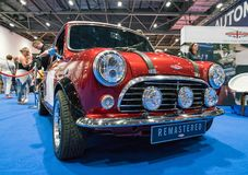 Mini Remastered in London-Ausstellung stockfotografie