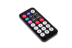 Mini remote control. For FM car transmitter royalty free stock image