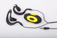 Mini resistencia portátil de la prenda impermeable MP3 Imágenes de archivo libres de regalías