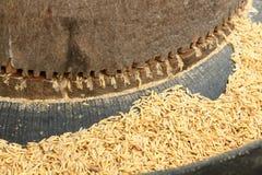 Mini rice mil Stock Photos