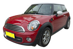 Mini rouge Photographie stock libre de droits