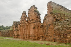 Mini ruinas de San Ignacio foto de archivo