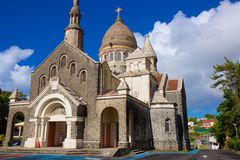 Mini Sacre Couer in Martinique Stock Photography