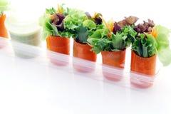 Mini salade Photo libre de droits