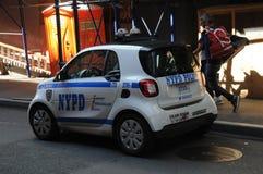 MINI samochód NYPD Fotografia Stock