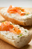 Mini sandwiches royalty free stock images