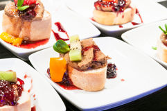 Mini sandwiches Royalty Free Stock Image