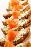 Mini sandwiches Royalty Free Stock Photo