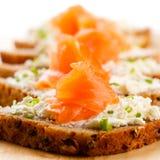 Mini sandwiches Royalty Free Stock Photos