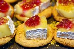 Mini Sandwiches Traditional Spanish Tapas stock images