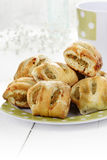 Mini Sausage Rolls Stock Photography
