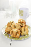 Mini Sausage Rolls  Royalty Free Stock Photos