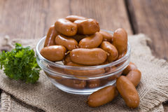 Mini Sausages Royalty Free Stock Photography