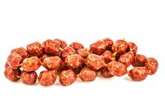 Mini sausages Stock Photo